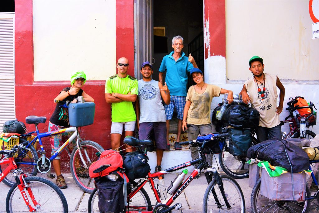 Bike Touring friends in Santa Marta colombia