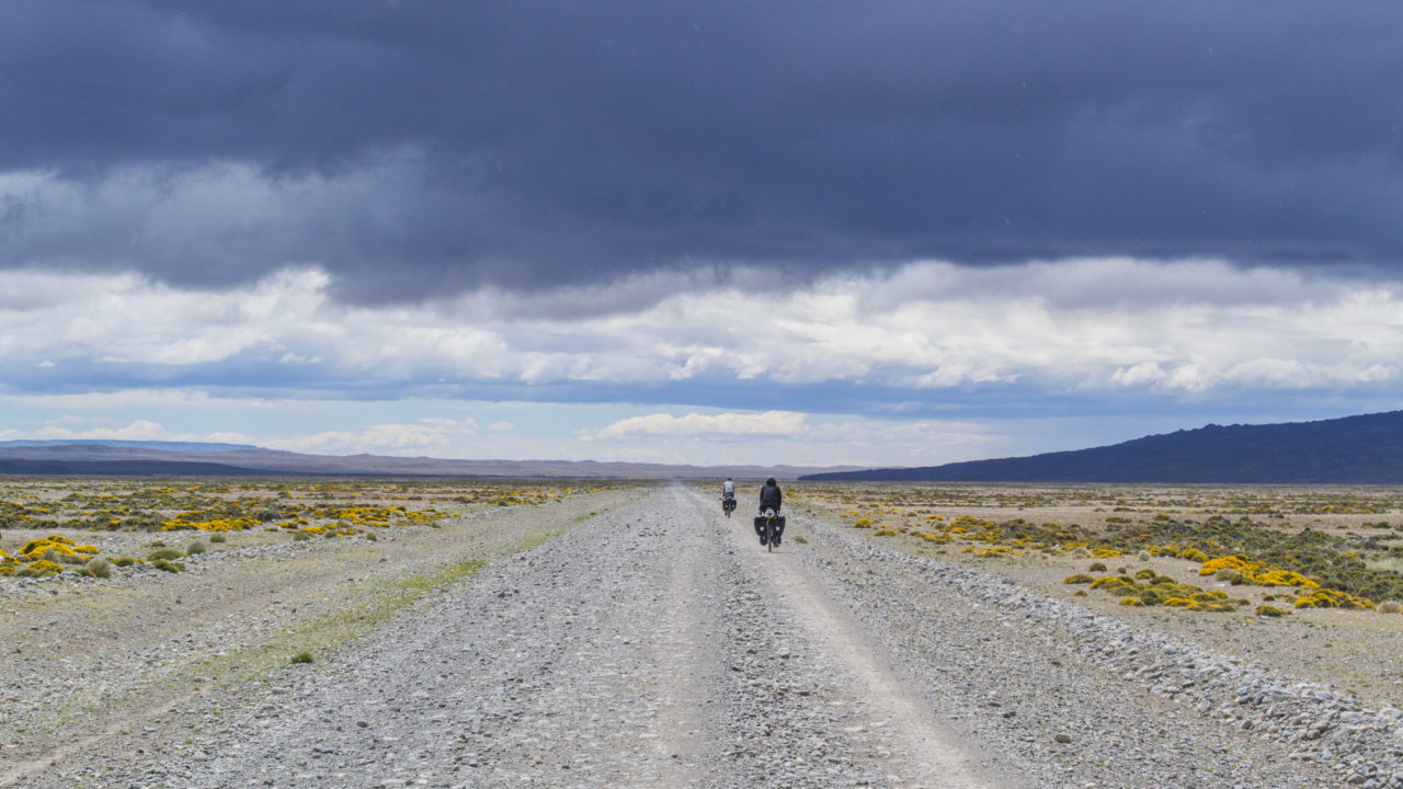 Bike travelling Patagonia